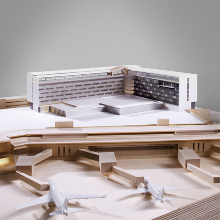 Marriott Hotel Model - Overall view